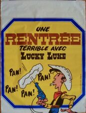 LUCKY LUKE: UNE RENTREE TERRIBLE AVEC... French poster 47x63 MORRIS 1973 Rolled