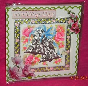 Handmade Card - Congratulations On Your Wedding.