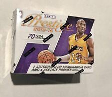 2015-16 Panini Prestige NBA BLASTER BOX Hunt For Kobe Bryant