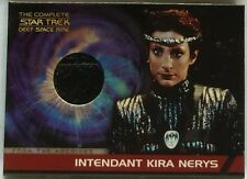 THE COMPLETE STAR TREK DS9 COSTUME CARD - CC4 KIRA (SHINY BLACK)