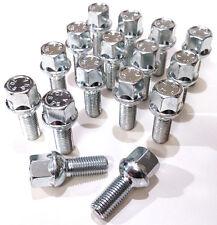 16 x wheel bolts nuts. M12 x 1.5 Radius Seat 26mm Thread Length 17mm Hex