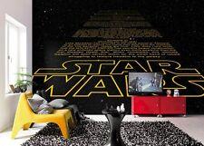 8-487 - Disney Multicoloured Star Wars Intro Komar Wallpaper