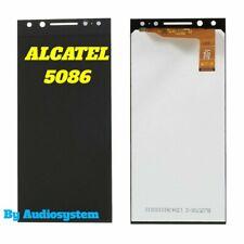 DISPLAY LCD+ TOUCH SCREEN per ALCATEL 5 2018 OT-5086 NERO VETRO SCHERMO NUOVO