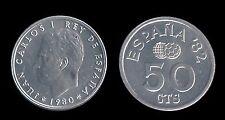 Juan Carlos 1º. 50 Céntimos. 1980*80.
