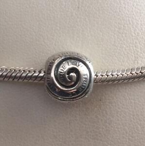 Chamilia Sterling Silver TRUE LOVE Charm - GB-4