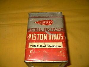 1936-39 LINCOLN  V/12  PISTON RING SET 96HS-6149-AR STD. 901 / HB / 86H / 96H