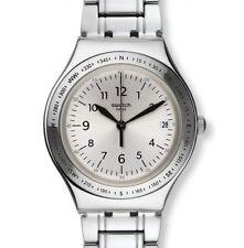 Swatch Irony Big Silver Joe Stainless Steel Swiss Quartz Chrono Watch YGS471G