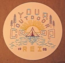 Your Outdoor Co-op Decal REI Recreational Equipment, Inc.1938 80th Anniversary