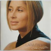 "LARA FABIAN - CD SINGLE PROMO 1 TITRE ""LA LETTRE"""