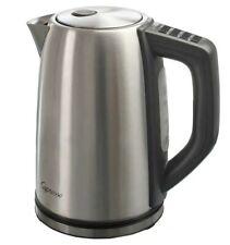 NEW! Capresso H2O Steel Water Kettle Silver 57oz