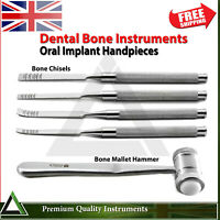 Dental Implant Bone Ridge Expansion Surgical Chisels Mallet Hammer Oral Surgery
