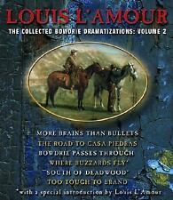 Louis L'Amour VOLUME 2 BOWDRIE COLLECTION CD 6 Story *NEW* 1st Ship $29.95 Val