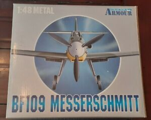 Franklin Mint 1:48 Armour Collection BF109 Messerschmitt Die - Cast Plane 98009