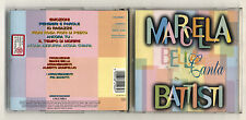 Cd MARCELLA BELLA CANTA BATTISTI Lucio - Sony 1996