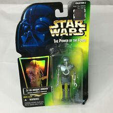 Vintage Star Wars Medic Driod 2-1B Action Figure Power of the Force 1996 NEW