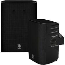 Yamaha NS-AW570 2-Way Indoor/Outdoor Speakers - Black (Pair) ✔NEW✔