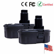 2PCS 2.0Ah 18V Replacement Battery For Dewalt DC9096 DC9099 DW9096 DE9503 DE9098