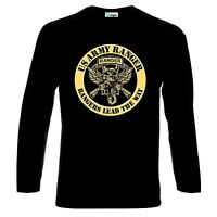 US United States Army Ranger Rangers Lead The Way Long Sleeve T-Shirt