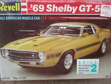 '69 SHELBY GT-500 REVELL 7161 1969 FORD MUSTANG WRAPPED 1:25 KIT 1988 ISSUE