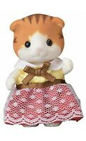 Calico Critters Sylvanian Families MAPLE CAT GIRL Epoch Japan NI-100