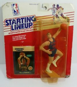STARTING LINEUP 1988 Bill Lambier Basketball Figure Detroit Pistons MOC