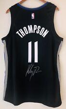 Klay Thompson Signed Warriors Autographed NBA Nike City Swingman Jersey FANATICS