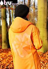 TRU RAIN  ~ S orange  Friesennerz ~ Raincoat ~ Regenmantel ~ Damen ~ Regenjacke