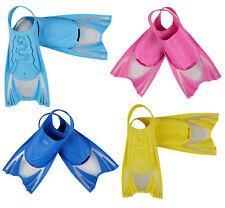 Kid Children Scuba Snorkeling Diving Swimming Full Foot Shoes Swim Fins Flippers