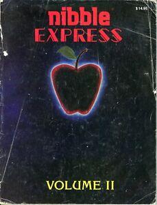 Apple II IIe IIc IIgs Nibble Express Volume II Cover Detached