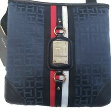 Tommy Hilfiger Womens X Body Cross Body Handbag Purse Blue Date Night New