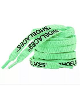 Lacets Shoelaces Nike X Off White Neuf 140cm Vapormax Converse Virgil Abloh