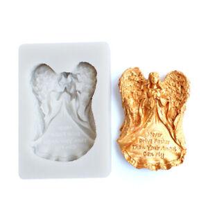 Silicone Prayer Angel Fondant Sugarcraft Mould Cake Decor Chocolate Baking Mold