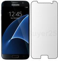 Samsung Galaxy S7 Tempered Glass Screen Protector Gorilla Phone Guard Real 9H