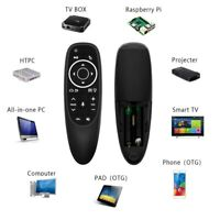 G10S Pro Wireless Gyroscope Backlit Voice Remote Control for Android TV Box DEN