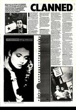 """7/9/91 Pgn22 LOVE AND MONEY : WISHING WATERS E.P. 10X7"""""""