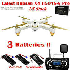 Hubsan H501S S Pro Brushless Drone 5.8G FPV Quadcopter 1080P GPS+3Battery,H501SS