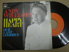 ANDY WILLIAMS Happy Heart SPAIN 45 1969