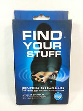 NEW Smead Stick-N-Find Bluetooth Location Tracker with Key Fob, 2 per Pack