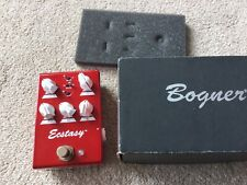 Bogner Ecstasy Red Mini Near Mint Condition Overdrive Distortion