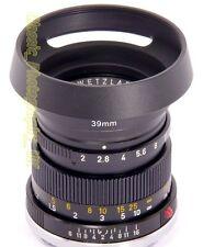 E39 Métal Lens Hood vis L39 pour LEICA Summicron-M 2/50 ELMAR 2.8/50 SUMMARON-M