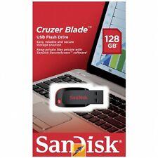 SanDisk Cruzer Blade CZ50 128G 128GB 128 G GB USB 2.0 Flash Thumb Pen Drive