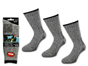 1 To 8 Pair Arctic Thermal Socks Wool - Men's Wool Socks