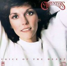 "CARPENTERS - ""Voice of the Heart"" - CD - Richard & Karen Carpenter / Herb Alpert"