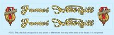 James Fothergill Bicycle Decals-Transfers-Stickers #1