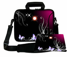 LUXBURG 14,2 Inch Design Laptop Notebook Shoulder Bag with Matching Mousepad #AT