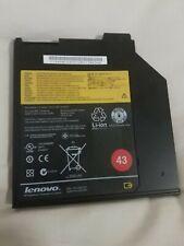 Lenovo ThinkPad T400s T420s T430S T500 Genuine Ultrabay Battery 45N1040 45N1041