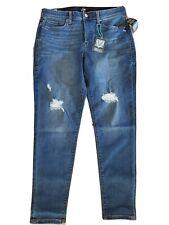 LuLaRoe Size 32 Denim Jeans Original Skinny Stretchy New NWT Distressed