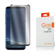 Nacodex CASE FRIENDLY 3D Full Cover Glass Screen Protector For Samsung Galaxy S8