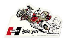 Du pot Floor shift Hydro Gate drag race plasma Cut retro sign tôle bouclier bouclier