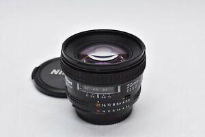 [APP NEAR MINT++] Nikon AF Nikkor 20mm f/2.8 D Ultra Wide Angle Auto Focus Lens